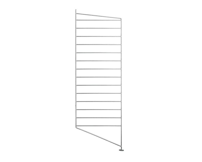 String - Outdoor Regal Bodenleiter- verzinkt - einzeln, 85 x 30 cm - 1