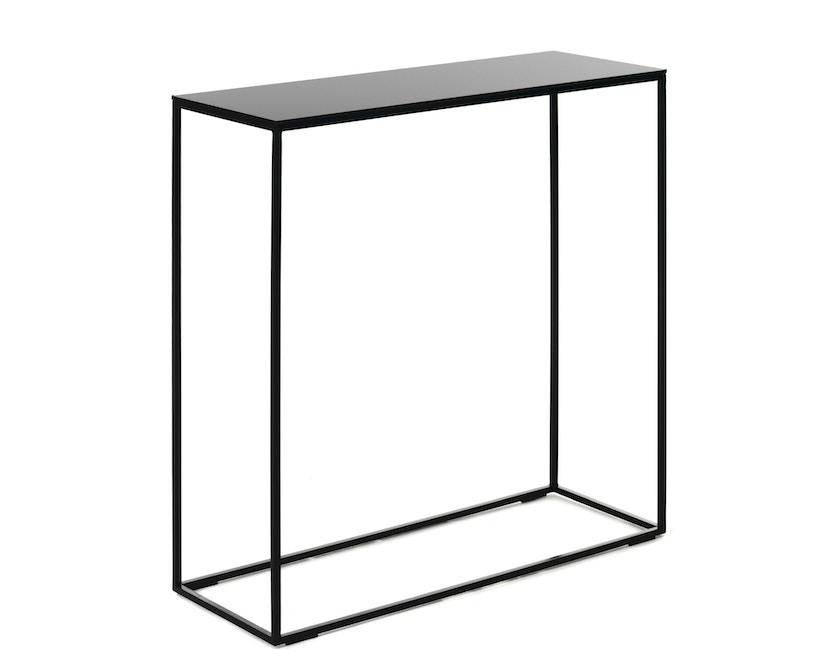 Schönbuch - Rack Konsoltisch - schwarz - mit Glasplatte - 1