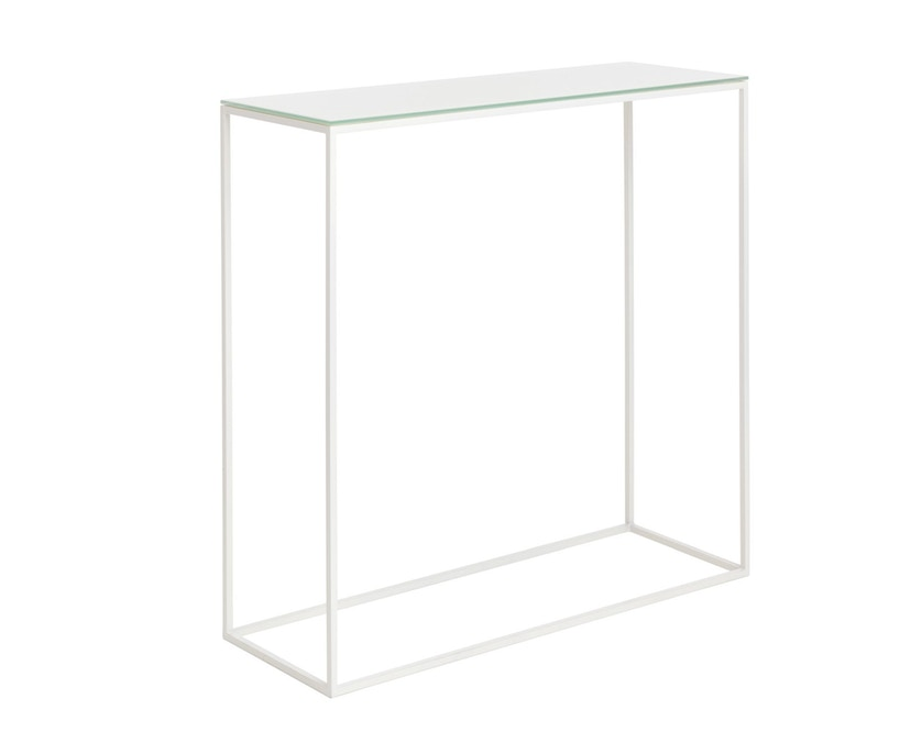 Schönbuch - Rack Konsoltisch - weiß - mit Glasplatte - 3