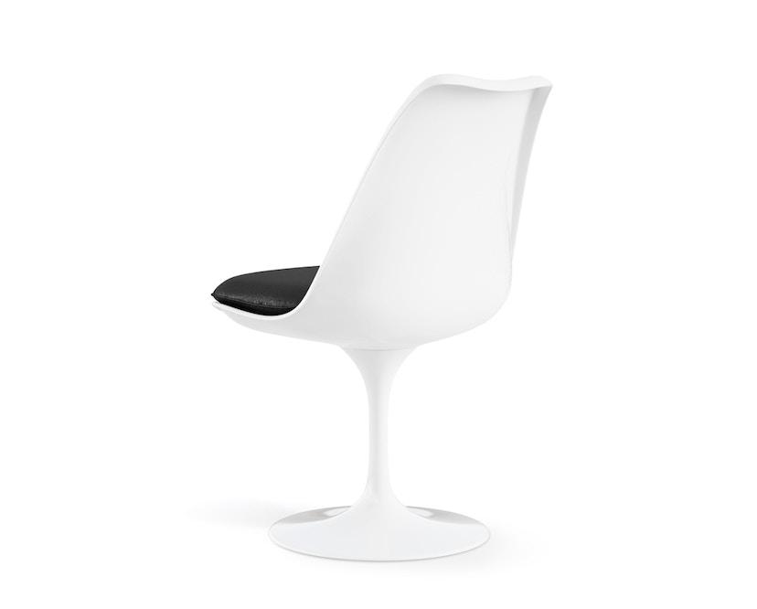 Knoll International - Saarinen Tulip Stuhl - Bezug Tonus Bright Red - Gestell weiß - Sitzkissen - 1