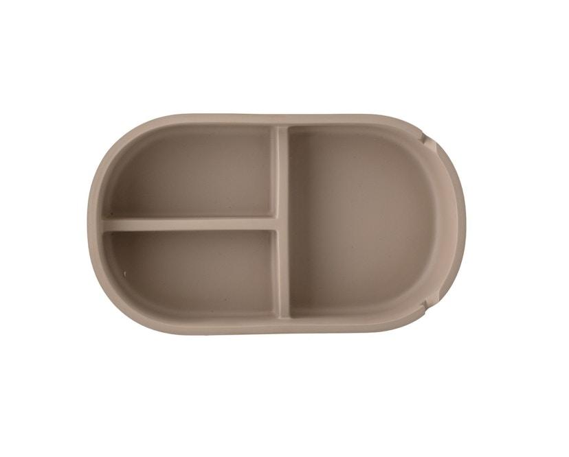 Bloomingville - Aufbewahrungsbox mit Deckel, Braun, Kunststoff - 2