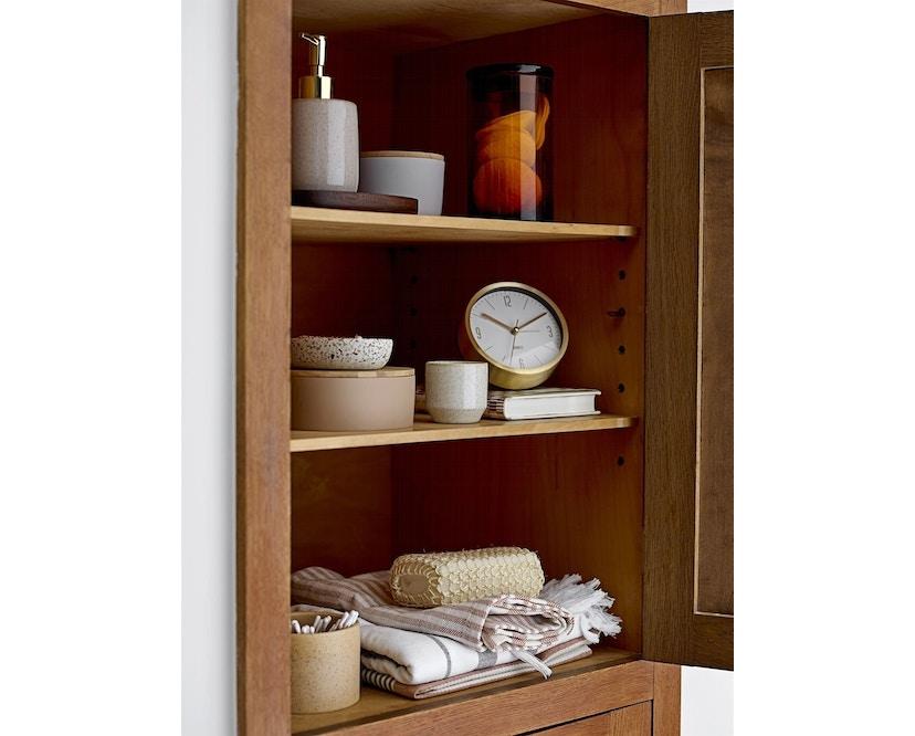 Bloomingville - Aufbewahrungsbox mit Deckel, Braun, Kunststoff - 5