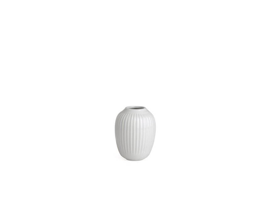 Kähler Design -  Hammershøi Vase - Höhe 10 cm - White - 1