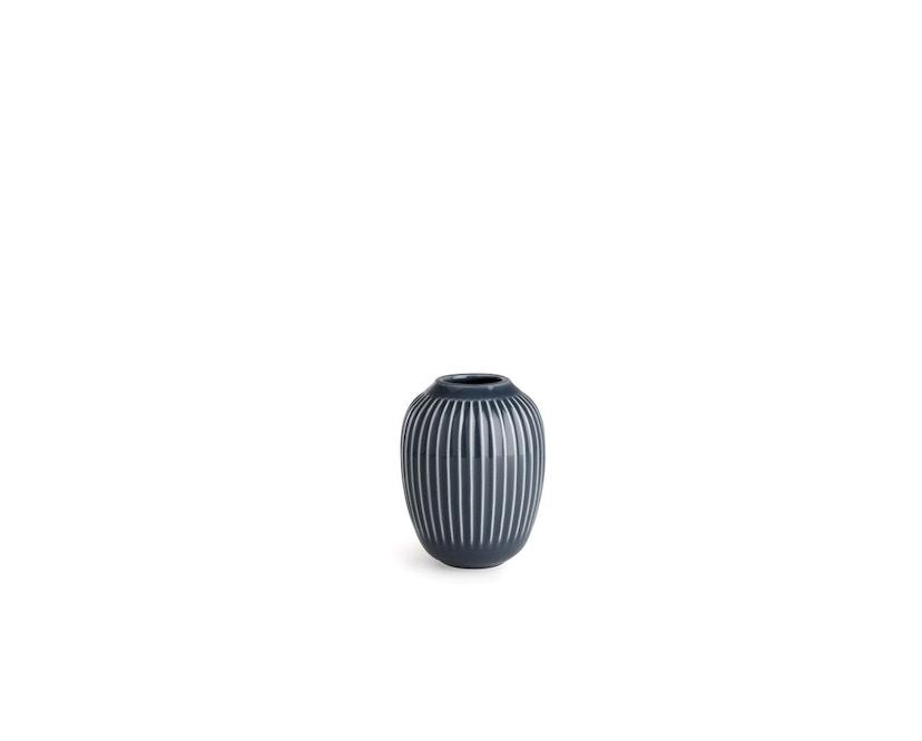 Kähler Design -  Hammershøi Vase - Höhe 10 cm - Anthracite - 1