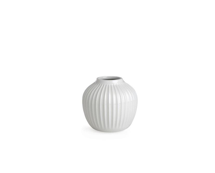 Kähler Design -  Hammershøi Vase - Höhe 12,5 cm - White - 1