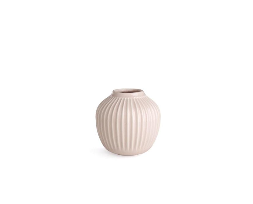 Kähler Design -  Hammershøi Vase - Höhe 12,5 cm - Rose - 1