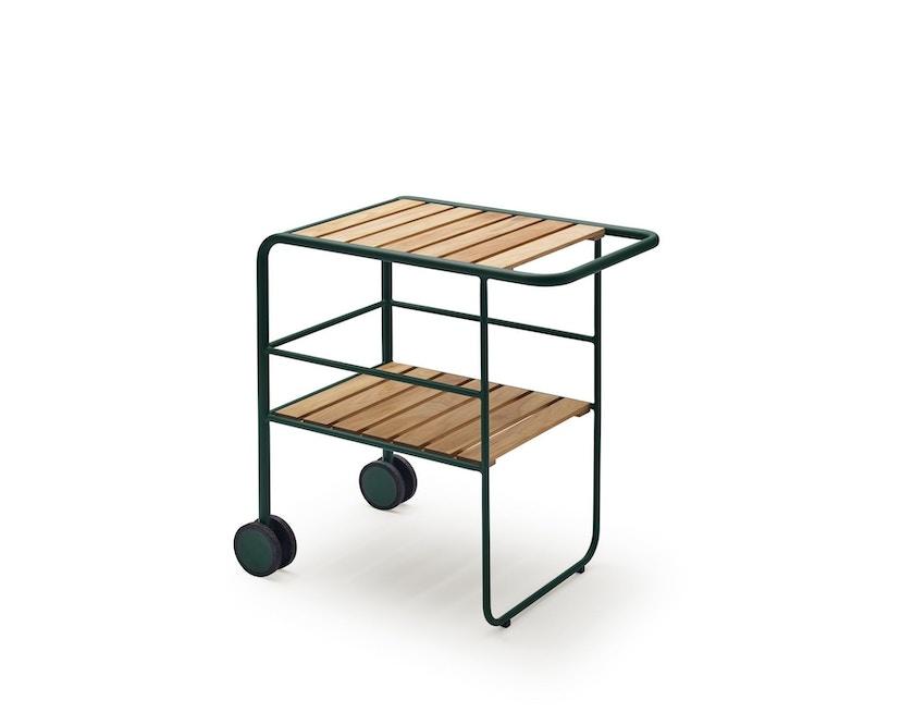 Skagerak - Fuori Servierwagen - jagdgrün/Teak - 1