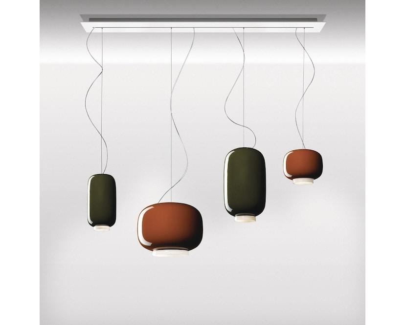 Foscarini - Chouchin LED Hängeleuchte - gris - non dimmable - 2