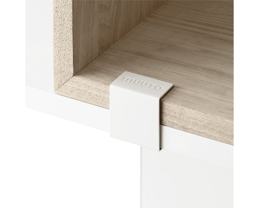 Muuto - Stacked Clips 2.0 - wit - 2