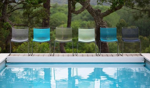 Houe - Click Dining stoel - blauw - 2