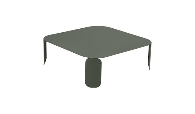 Fermob - Bebop Tisch quadratisch - H 29 cm - 48 rozemarijn - 1
