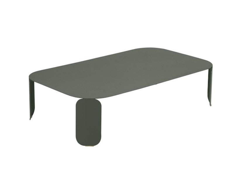 Fermob - Bebop Tisch rechteckig - H 29 cm - 48 romarin - 1