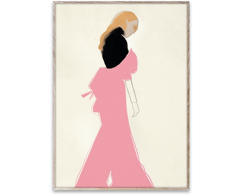 Pink Dress Poster