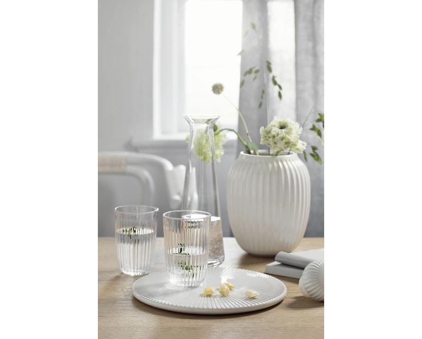 Kähler Design -  Hammershøi Vase - Höhe 12,5 cm - White - 3