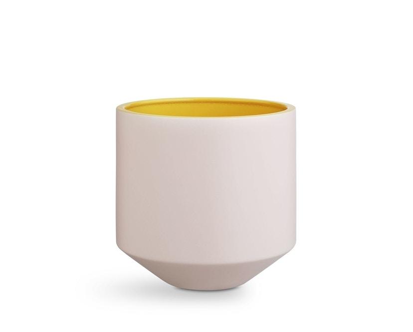 Kähler Design - Fiora Bloempot - roze/geel - 1