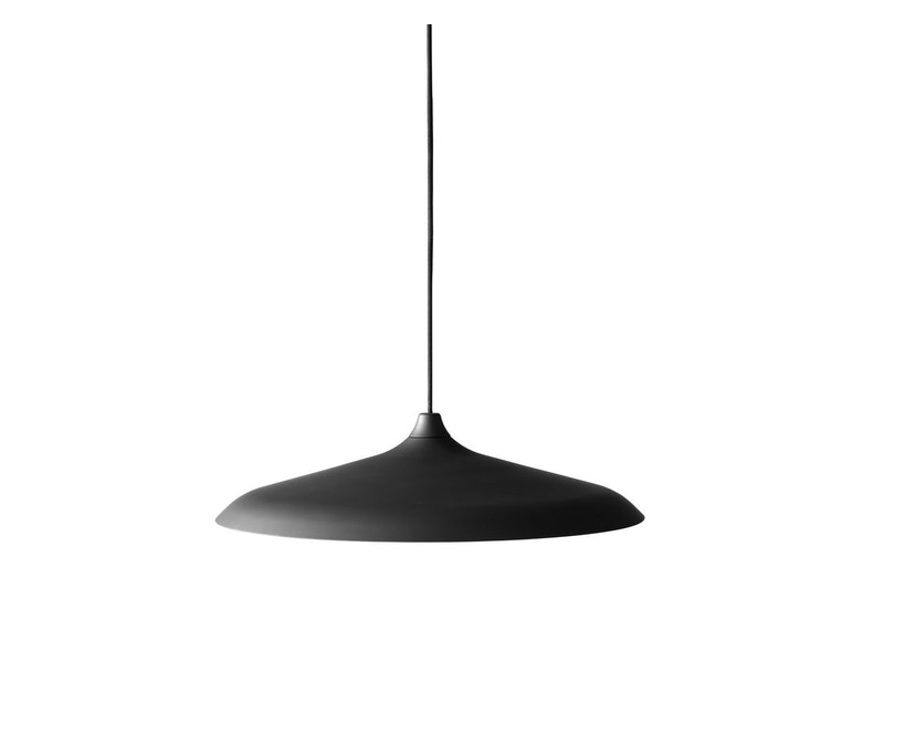 Menu - Circular Lamp - Black Aluminium - 1