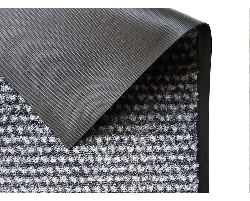 SCHÖNER WOHNEN-Kollektion - Miami Sauberlauf - 50 x 70 cm - Punkte anthrazit-grau - 2