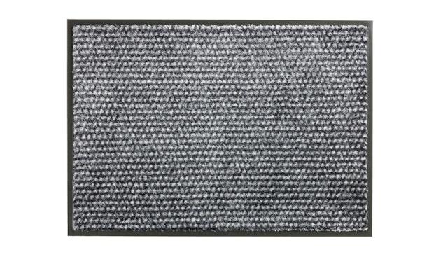 SCHÖNER WOHNEN-Kollektion - Miami Sauberlauf - 50 x 70 cm - Punkte anthrazit-grau - 1