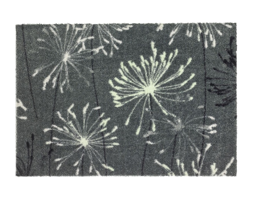 SCHÖNER WOHNEN-Kollektion - Manhattan Sauberlaufmatte - 50 x 70 cm - Pusteblume grau-mint - 1