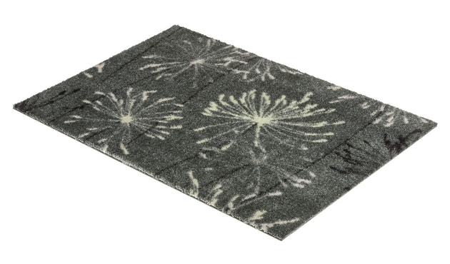 SCHÖNER WOHNEN-Kollektion - Manhattan Sauberlaufmatte - 50 x 70 cm - Pusteblume grau-mint - 3