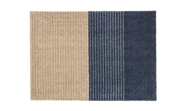SCHÖNER WOHNEN-Kollektion - Manhattan Sauberlaufmatte - 50 x 70 cm - Streifen dunkelblau - 1