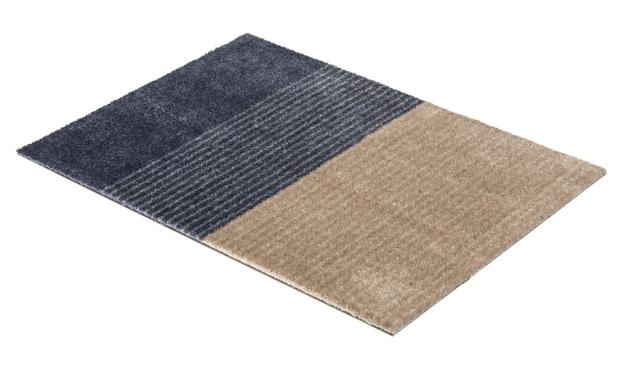 SCHÖNER WOHNEN-Kollektion - Manhattan Sauberlaufmatte - 50 x 70 cm - Streifen dunkelblau - 3