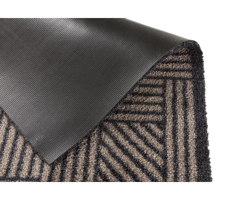 SCHÖNER WOHNEN-Kollektion - Manhattan Sauberlaufmatte - 50 x 70 cm - Streifengitter be-ant - 1