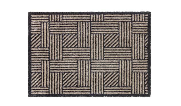 SCHÖNER WOHNEN-Kollektion - Manhattan Sauberlaufmatte - 50 x 70 cm - Streifengitter be-ant - 2