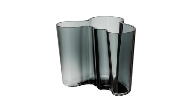 Iittala - Alvar Aalto Vase 16cm - gris foncé - 1