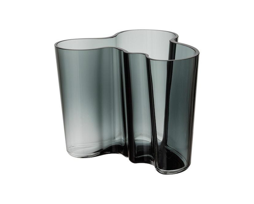 Iittala - Alvar Aalto Vase 16cm - dunkelgrau - 1