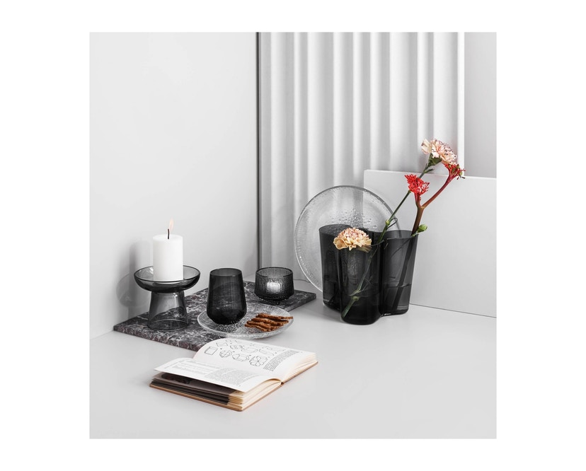Iittala - Alvar Aalto Vase 16cm - gris foncé - 2