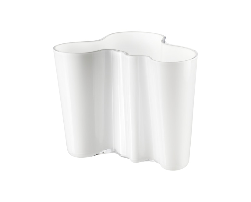 Iittala - Alvar Aalto Vase 16cm - opalweiß - 1