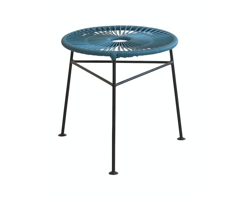 OK Design - Centro Hocker - Petroleum blue - 3