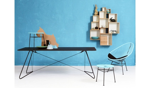 OK Design - Centro Hocker - Black - 4