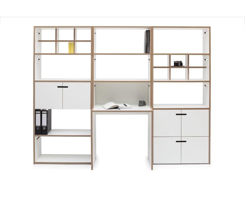 Tojo - Schreib Schreibtisch - weiß - 6