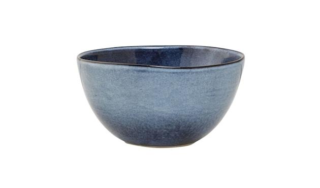 Bloomingville - Sandrine Schüssel - tief, Blau, Steinzeug - 1