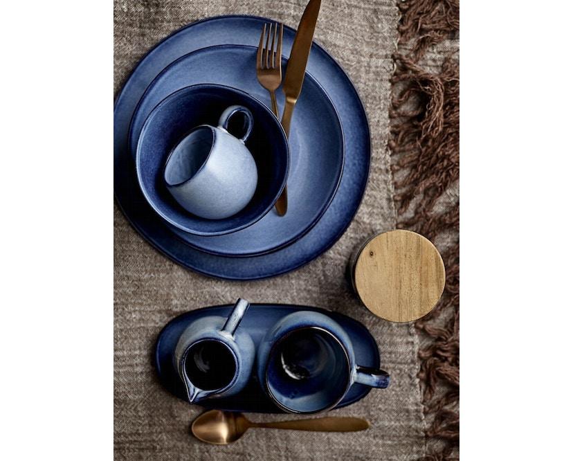 Bloomingville - Sandrine Schüssel - tief, Blau, Steinzeug - 2