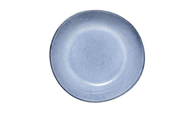 Bloomingville - Sandrine Schüssel - flach, Blau, Steinzeug - 1