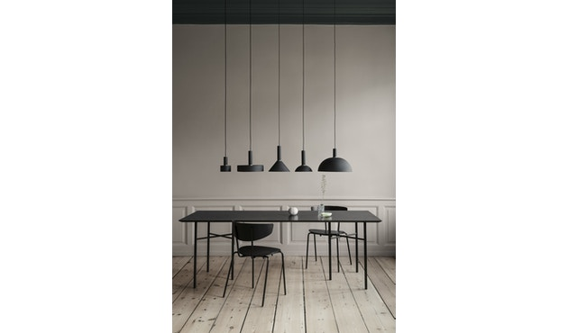 ferm LIVING - Collect Lighting - Disc - messing schwarz - 11