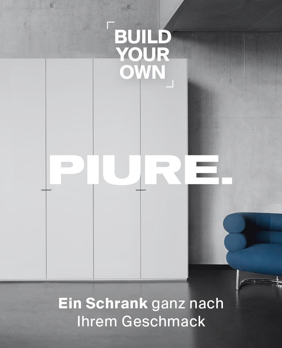 Nex Pur Schrank-Konfigurator Werbemittel