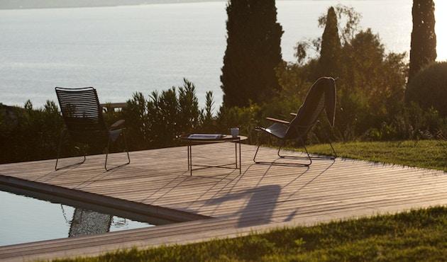 Houe - Click Lounge Stuhl - Pflaume - 5