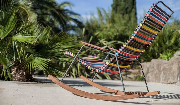 Houe - Click Rocking schommelstoel - multicolor - 3