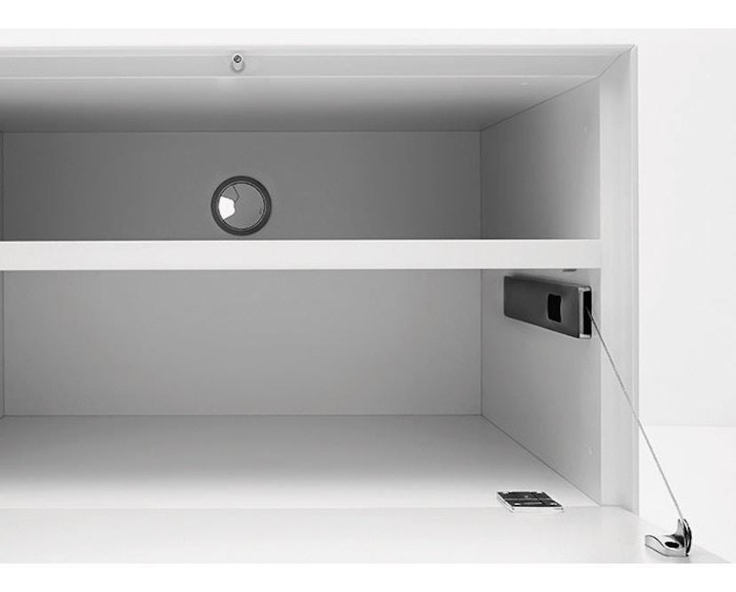 Piure - Nex Pur Box mit Tür - weiß - B120 - H52,5 - 22