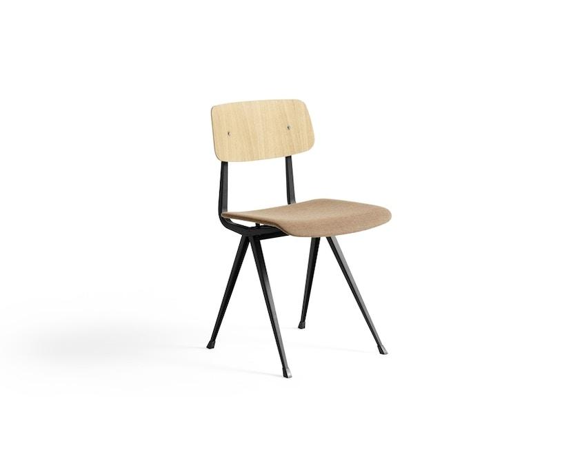 HAY - Result Stuhl gepolstert - Eiche beige gebeizt/Canvas356 - 1