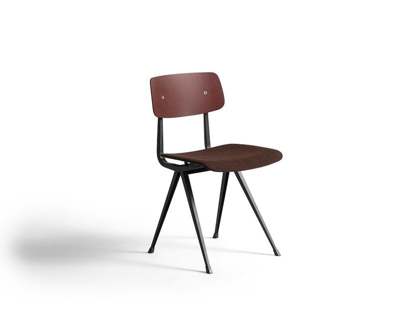 HAY - Result Stuhl gepolstert - Eiche rot gebeizt/Remix373 - 1
