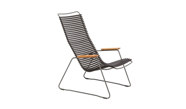 Houe - Click Lounge Stuhl - schwarz - 1