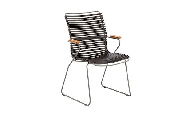 Houe - Click Dining Armlehnstuhl mit hoher Lehne - schwarz - 1