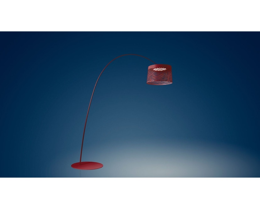 Foscarini - Twiggy Grid Vloerlamp - rood - 1