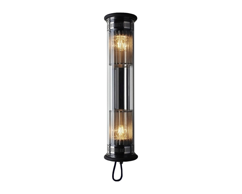 DCW éditions - IN THE TUBE 100-500 wandlamp - zilver - stof zilver - 1