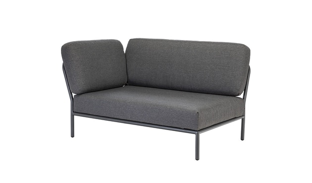 Houe - Level Lounge sofa - Armleuning links - Basic - donkergrijs - 1